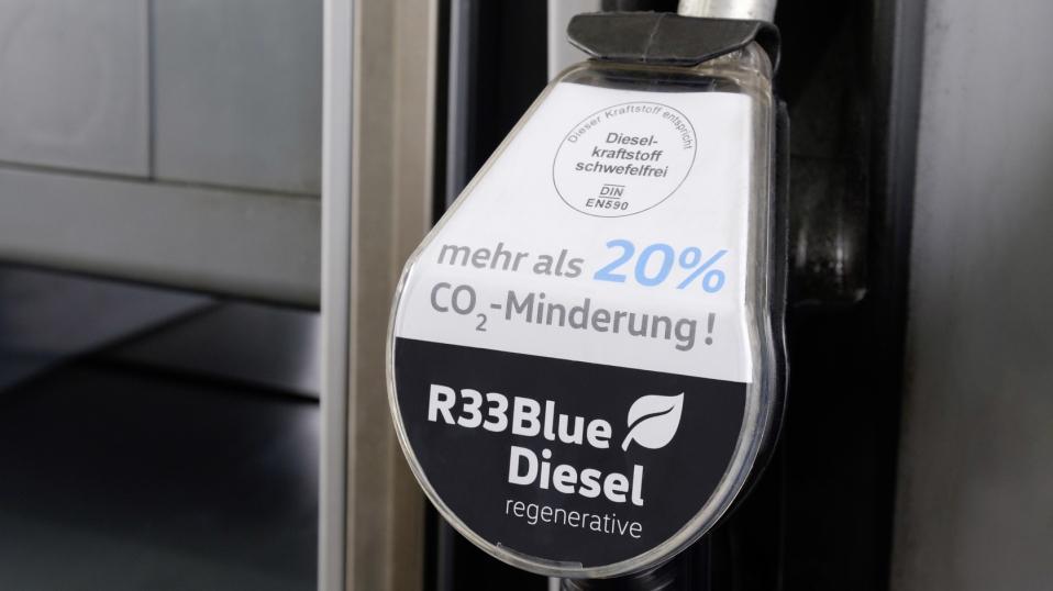 El diesel azul de Volkswagen